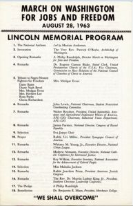 Original March Program from wikipedia.com